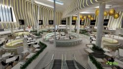 3D Modern Interior Shopping mall - Restaurant Design