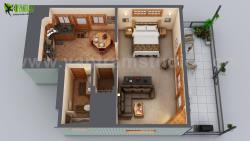 Small House Floor Plan Design Ideas by Yantram architectural animation studio Bern.