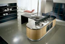 Kitchen Fixed Island