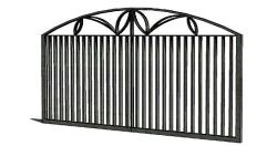 Wrought iron gate design for main entrance