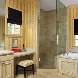 bamboo strips paint ideas for bathroom