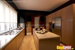 Kitchen cabinets style of modern and modular kitchen