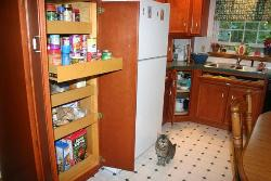 Pull out Drawers in pantry