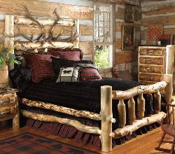 Rustic Style Bedroom
