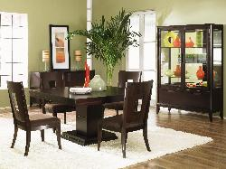 Modern style wooden dining room furniture