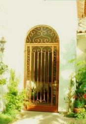 wrought iron gate for entrance