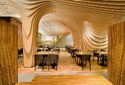 Modern and Artistic Architectural Design for Restaurant
