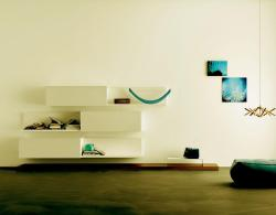 entertainment wall unit in modern style