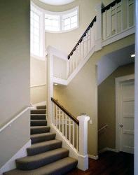 Staircase with Trim