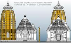 jagannath temple design