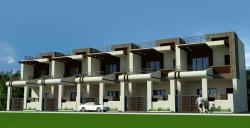 "Elevation of Duplex plot size 16"" x 60"""