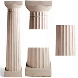 Doric style  pillar for indoor and outdoor