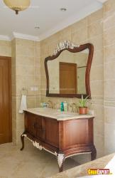 Victorian vanity style for bathroom