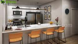 Creative Modern Style Kitchen Design Ideas by residential interior design studio Washington, USA.