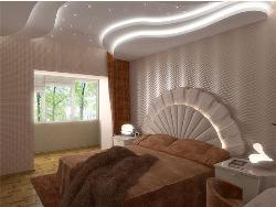 POP Ceiling in Bedroom Ceiling Steps Design
