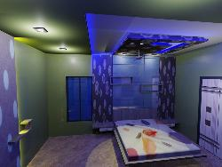 3d view of bed room