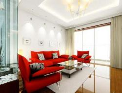 Wall Decor and Ceiling in Living Area