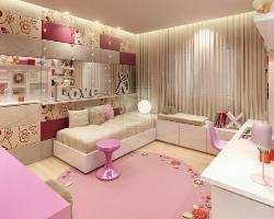 Girl's bed room