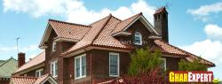 asphalt shingle roof for gable roof