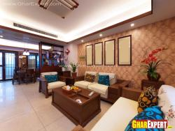 Drawing room designer wooden sofa and furniture