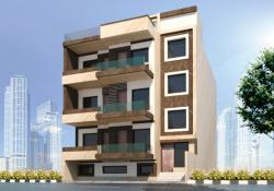 PROPOSED RESIDENCE AT SECTOR-44,GURGAON-250 SQ.YD. PLOT CATAGORY
