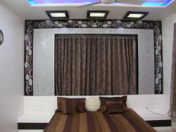 m.bed room with contamporary design