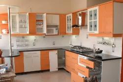 Modern Kitchen Furniture- Pull out Drawers Design