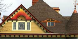 oval dormer in a home