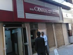 GENIUS STUDENT ACADEMY, SIGNAGE AND FACADE WORK