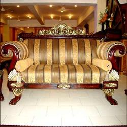 an impressive design of sofa set