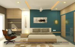 modren master bedroom