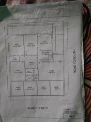 House and shop plan