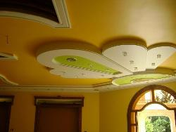 Flowery Ceiling Design