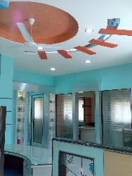 ceiling Design for Office Reception Place.