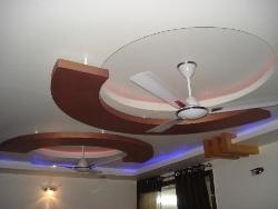 Ceiling Design in POP and Wood