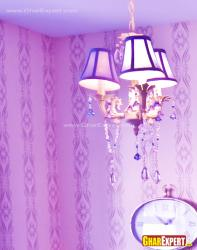 small chandelier for girls room