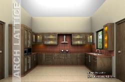 Kitchen design Arch Lattice