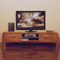 tv unit simple design made of wood