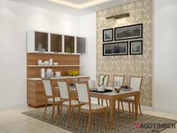 Get Dining room ideas which abouts your family needs in Delhi NCR - Yagotimber.