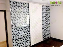 Customized Vinyl print for wardrobes