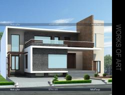 PROPOSED CONCEPT FOR ULTRA MODERN FACADE FOR RESIDENCE- 10