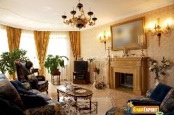 Stylish Living Room with Decorative Pieces