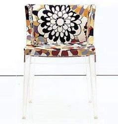 work done on a simple glass chair...