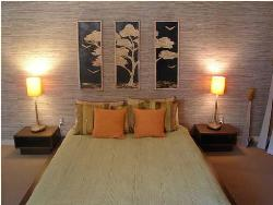 Bedroom interior Earthen Colors and Style