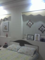 Bedroom furniture and wall decor