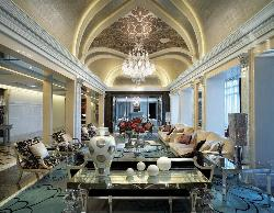 Drawing room decoration and Beautiful ceiling lighting design