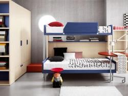 Modern Teen bunk bed style