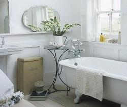 country bathroom style