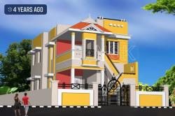 Nsk constructions-Tirunelveli-exterior elevation