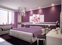 Bedroom Decor and stylish wall accent design